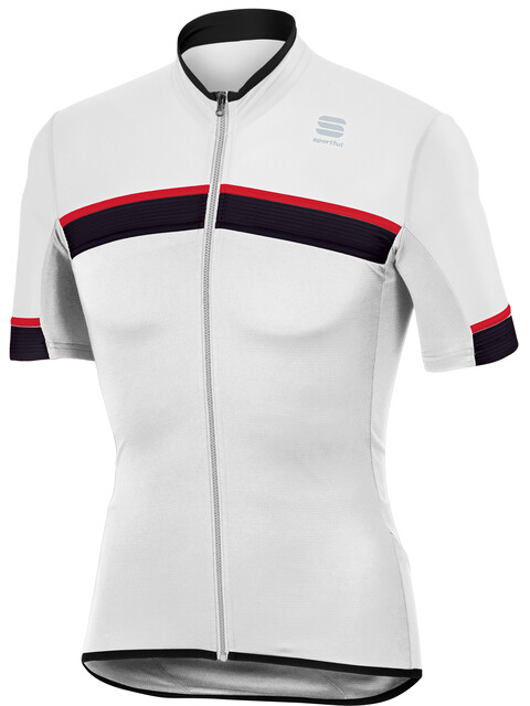 Sportful Pista SS Jersey Herren white